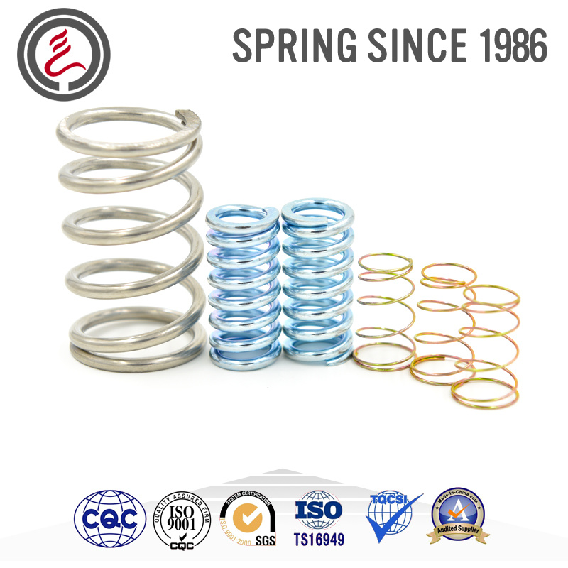 Small Custom Cylindrical Compression-Type Spring