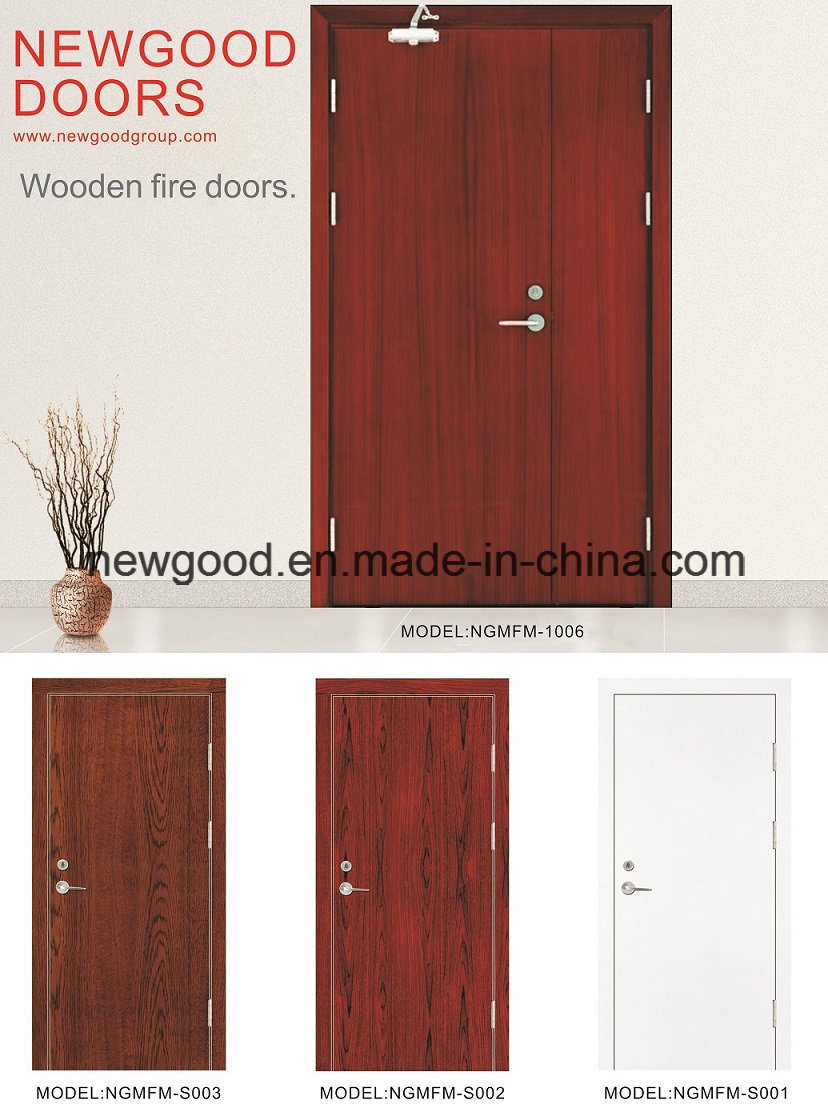 China Fire Rated Wood Door, Fire Rated Wooden Door, Sold Wood Door ...