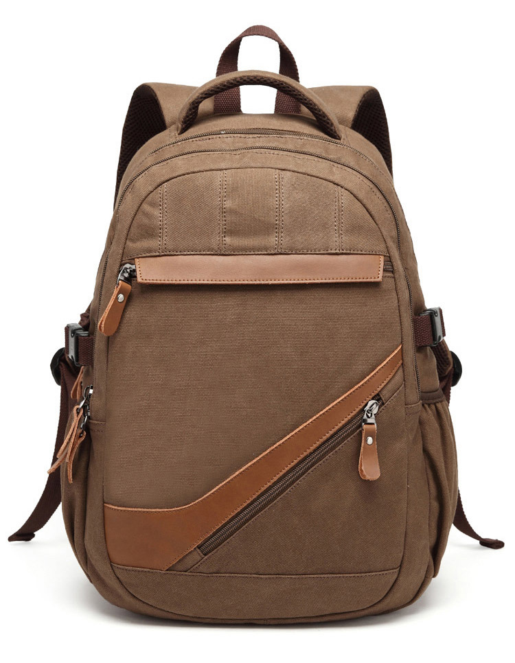 7285826664 China 2016 Outdoor Hiking Custom Vintage Canvas Backpack Sh-15122171 -  China Canvas Backpack