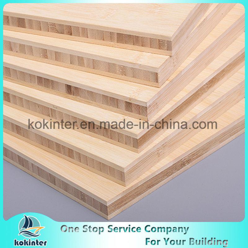 20mm Bamboo Panel Horizontal Board Natural Color Plywood