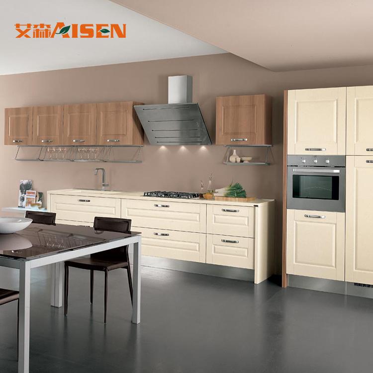 China Australian Standard Modern Style Pvc Kitchen Cabinets Vinyl Kitchen Cupboards China Pvc Kitchen Cabinet Kitchen Cabinet