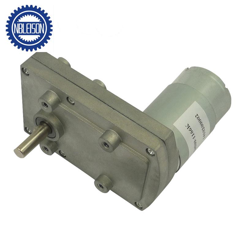 12V DC 60RPM Powerful Torque Micro Speed Reduction Gear Box Motor