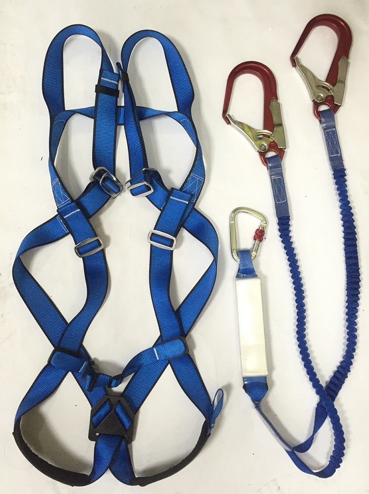 Adjustable Waist Belt with Safety Rope for Climbing, Manufacturer Price