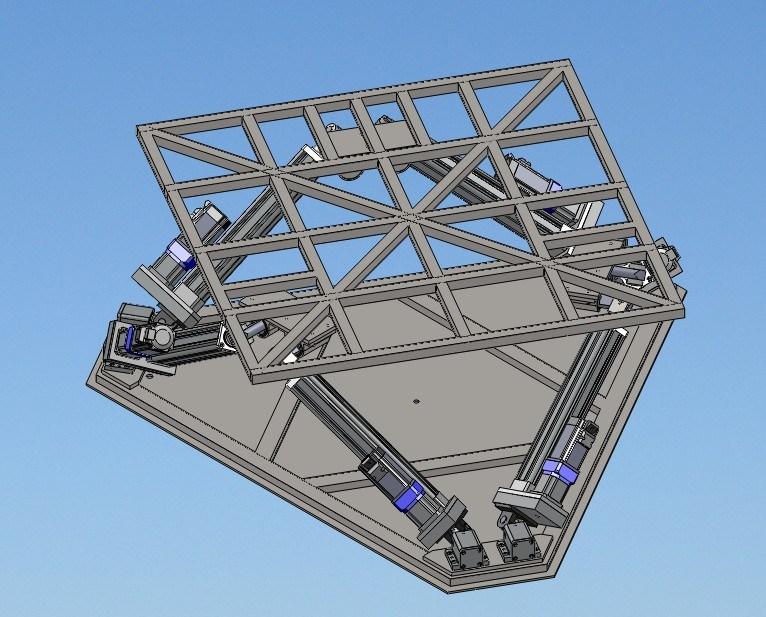 [Hot Item] 6dof Motion Platform Payload 250kgs for Games Machine
