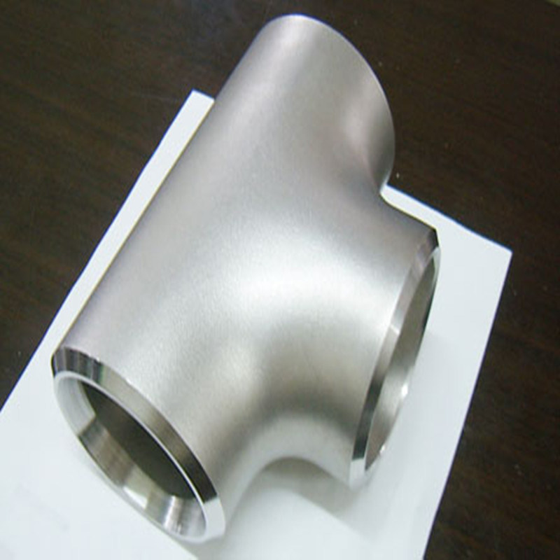 Ss321 Seamless Stainless Steel Pipe Fittings Equal Tee