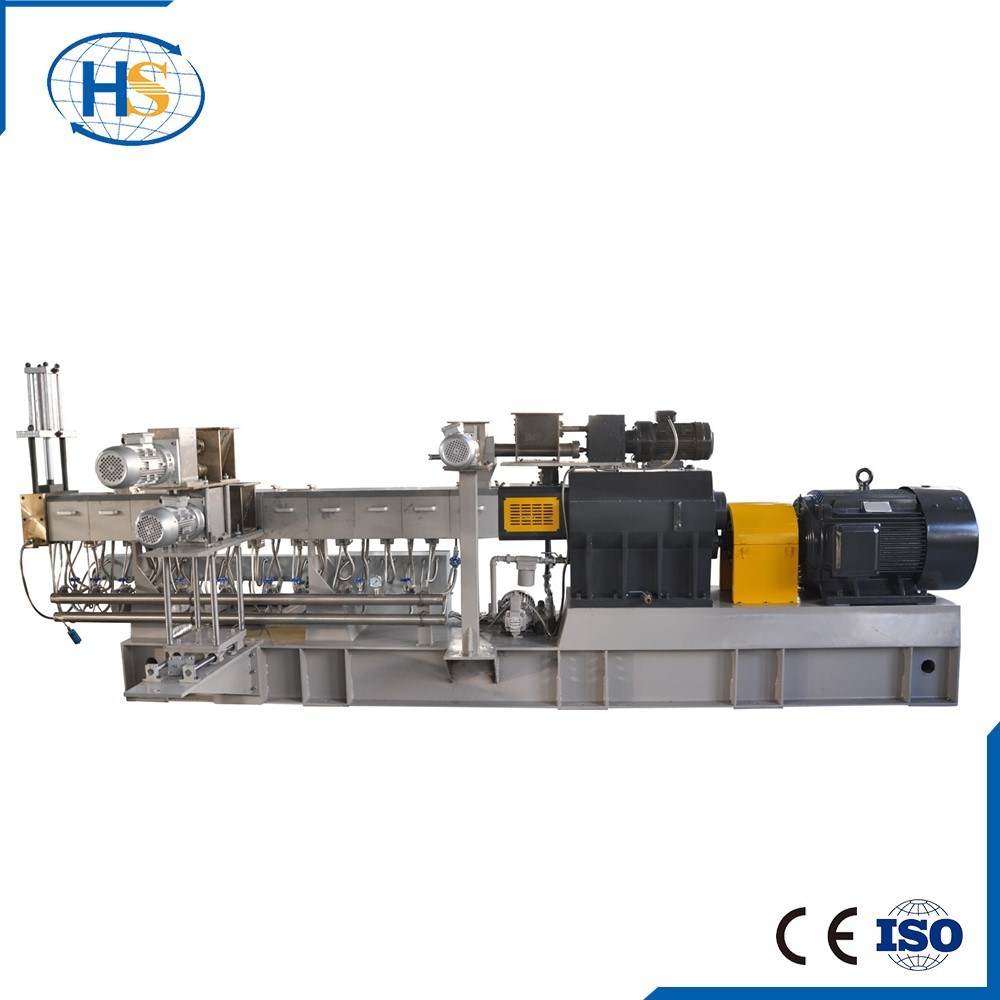 China New Tsh Series Filler Masterbatch Twin Screw Extruder Photos