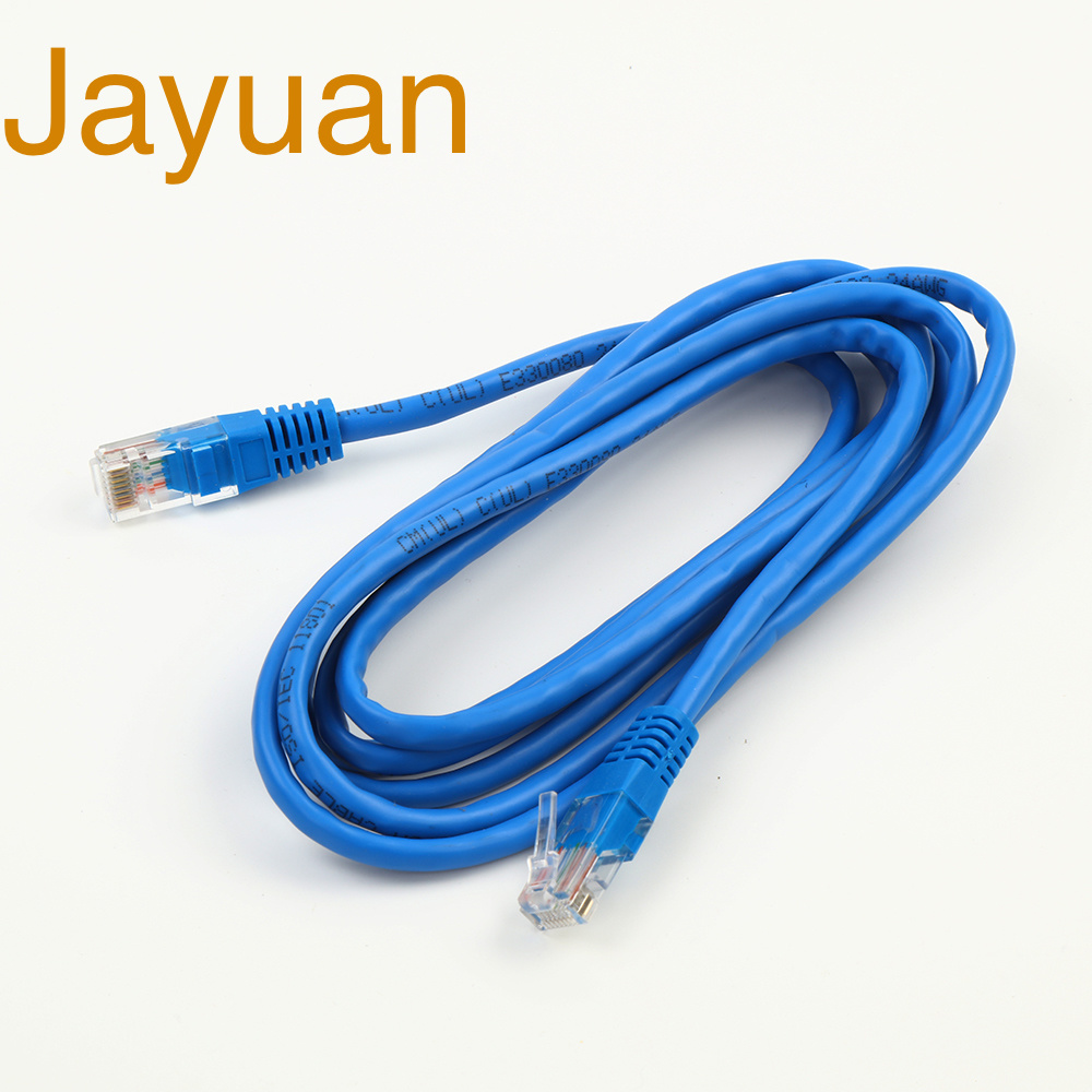 150FT Cat5E RJ45 Ethernet LAN Network FTP Shielded Patch Cable Copper 26AWG Blue