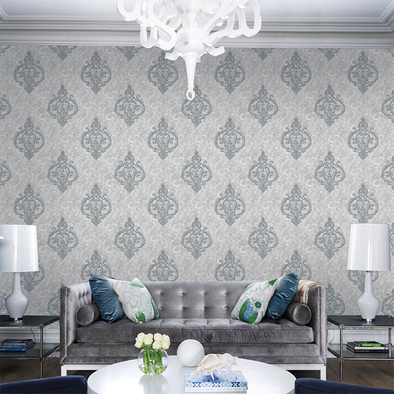 China High Quality The Foreign Style New Design Wallpaper For Home Decoration China Wallpaper Home Decor Pvc Wallpaper