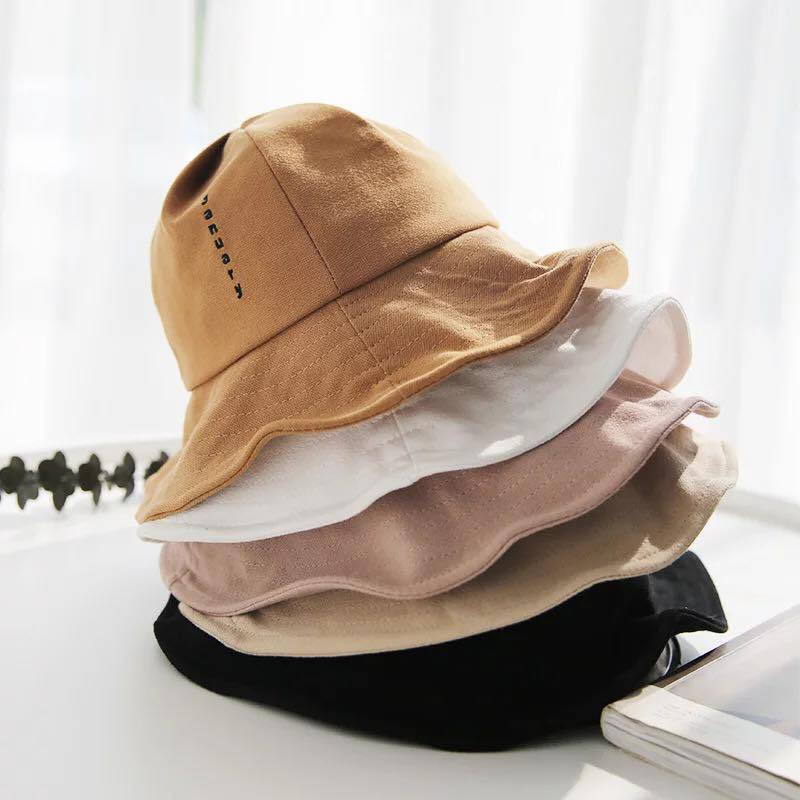 2019 Ins Hot Fashion Women White Plain Summer Foldable Sun Protection Hat with Custom Logo pictures & photos