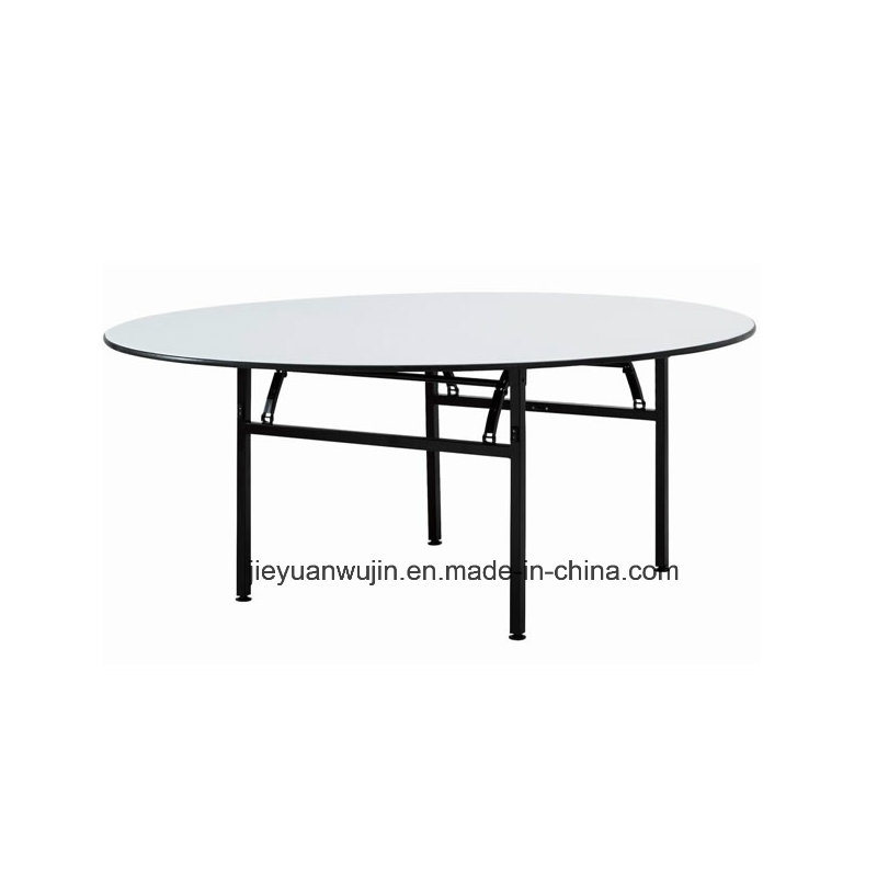 Hotel Restaurant Used Folding Round Banquet Table (JY T01)