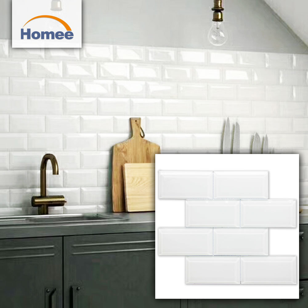 China Outdoor Decorative Wall Tiles Kitchen Designs White Gl Subway Tile Building Material Decoration