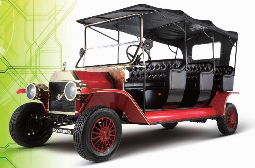 [Hot Item] Electric Golf Cart Vintage Cars Rental