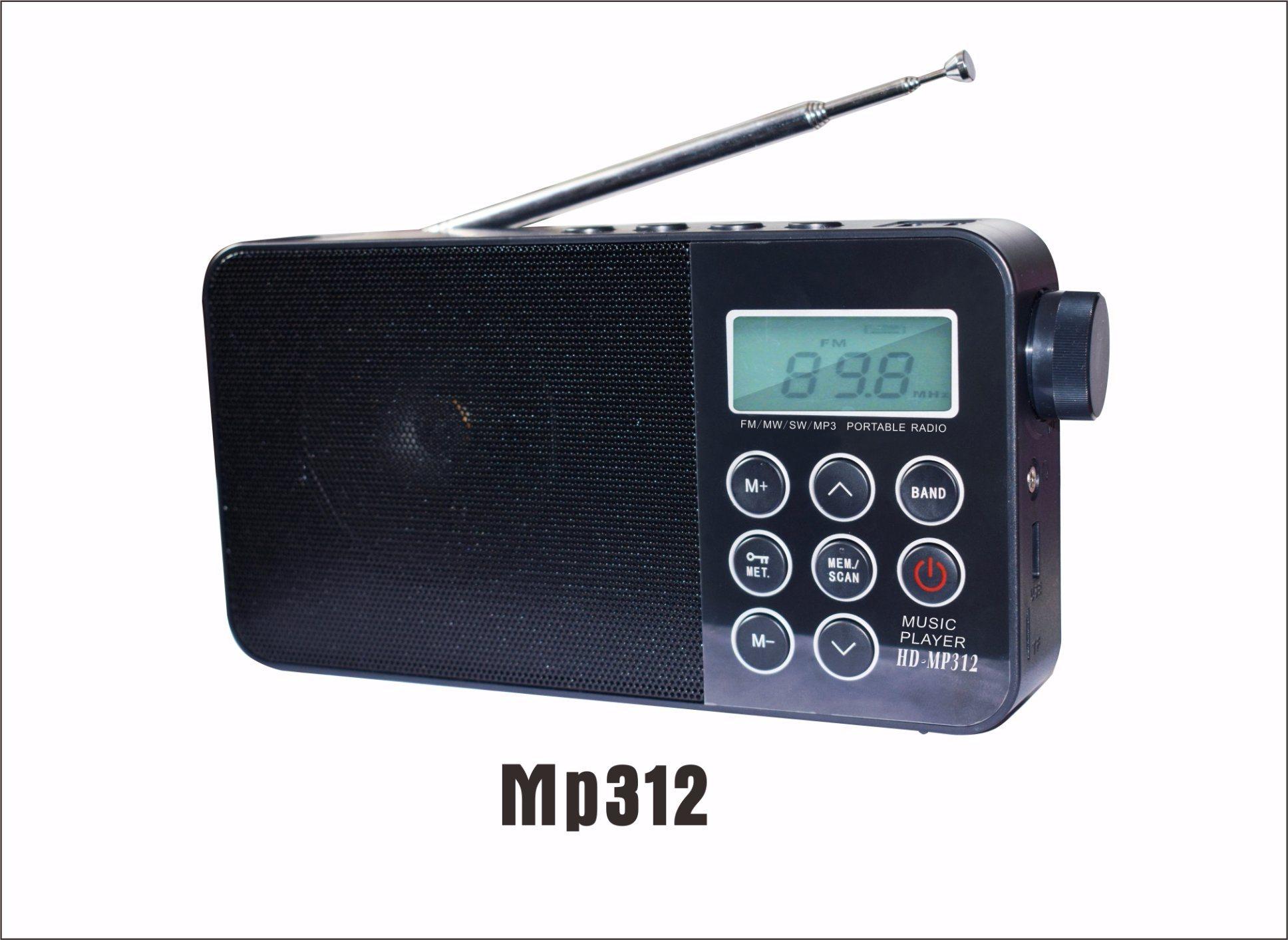 [Hot Item] Alarm Clock MP3 Indoor FM/Am Digital Alarm Radio (hurricane  season special)