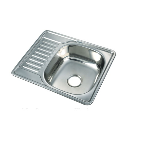 Hot Item Price Small Size Single Bowl Drainboard Sink