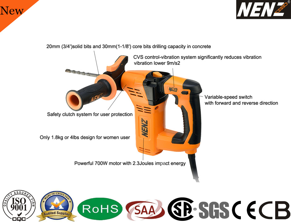 China Variable Speed Mini Professional Construction Used