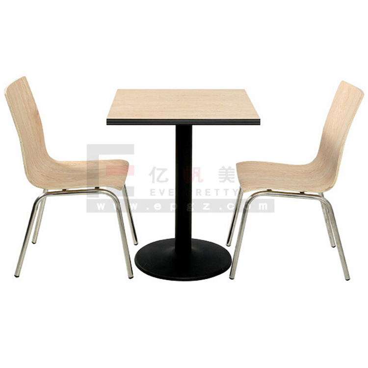 China Modern Restaurant Furniture 2 Person Dining Table And
