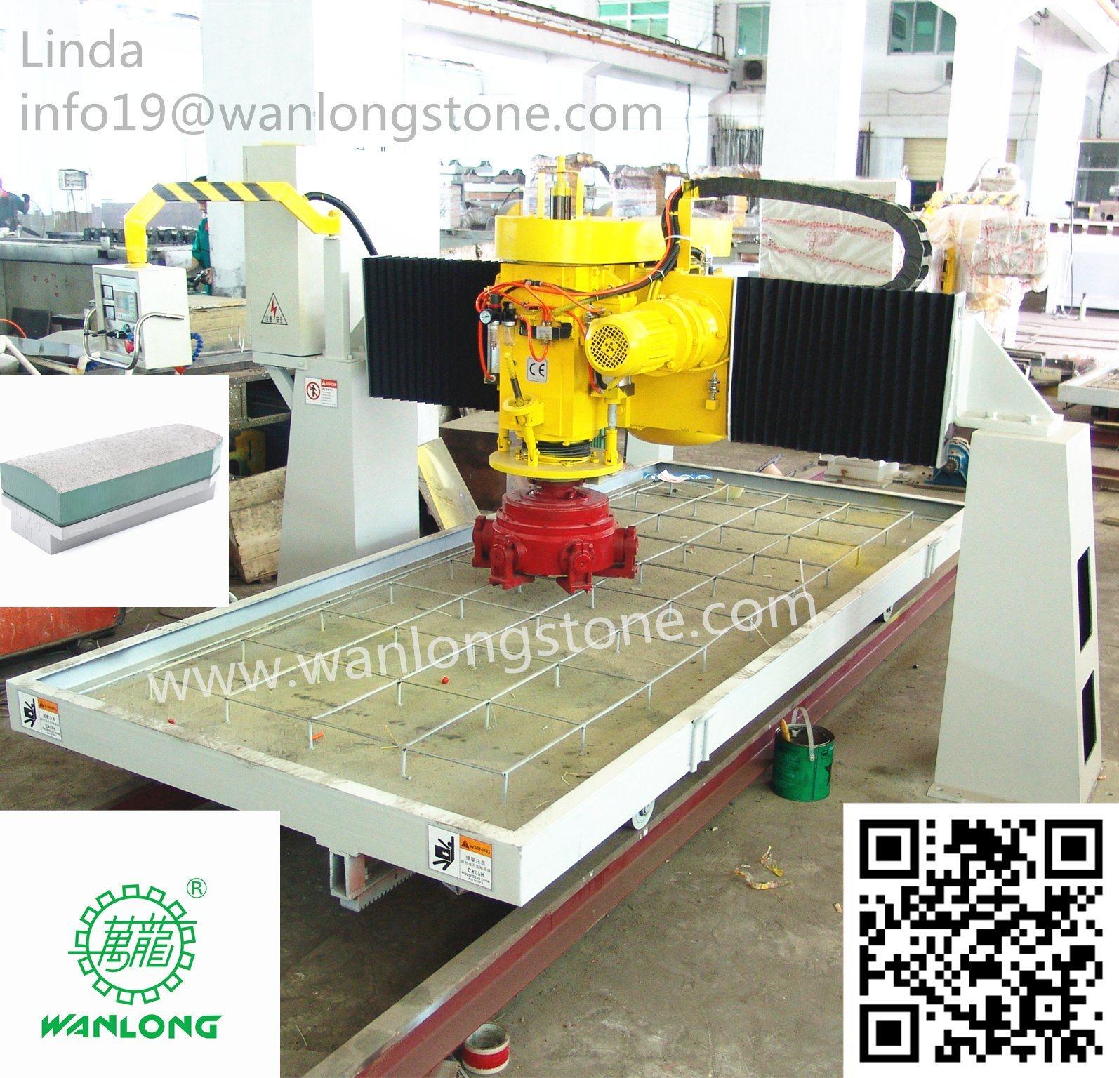China Large Slab Automatic Marble Granite Floor Polishing Machine