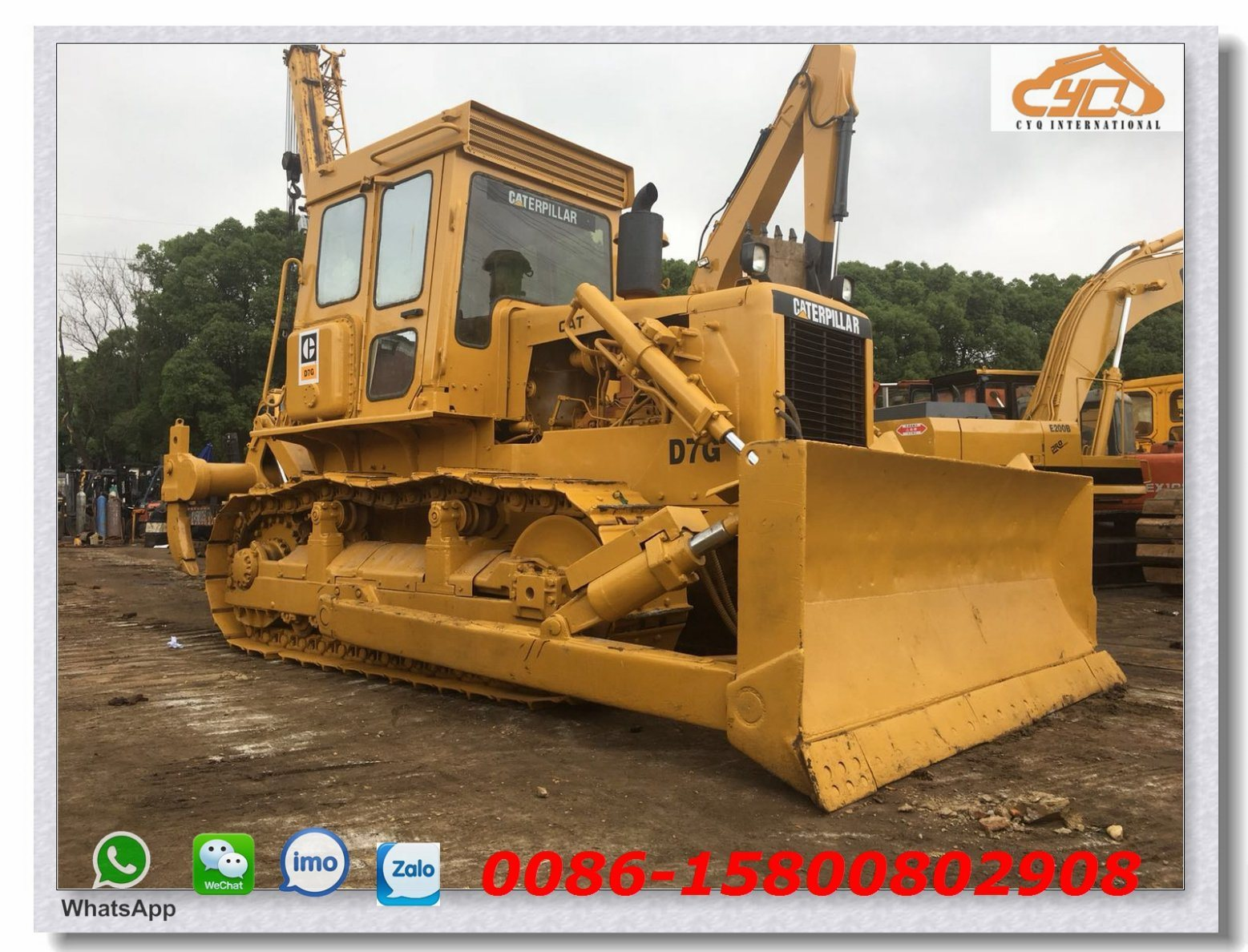 [Hot Item] Second Hand Bulldozer Cat D7g Bulldozer Cat D3, D4, D5, D6, D7,  D8 Dozer