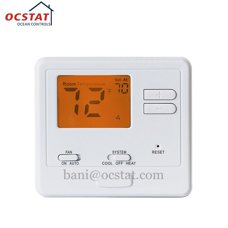 Best Digital HVAC Fan Coil Air Conditioner Thermostat for Central Heating