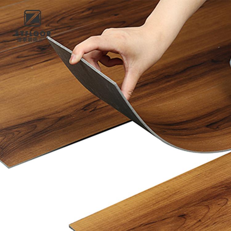 3mm Thickness Indoor Vinyl Flooring Dry Back