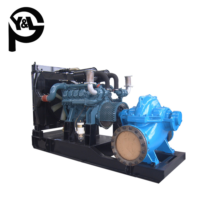 Trailer Mounted Diesel Engine Split Case Pump for Agricultural Irrigation pictures & photos