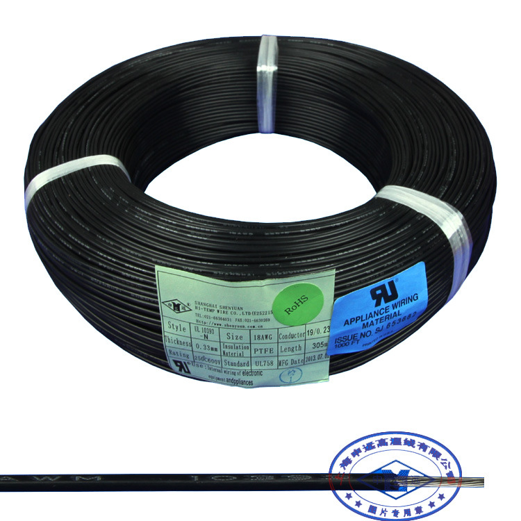 China 20 16 18 AWG PTFE Silver-Plated Copper Hook up Wire - China ...
