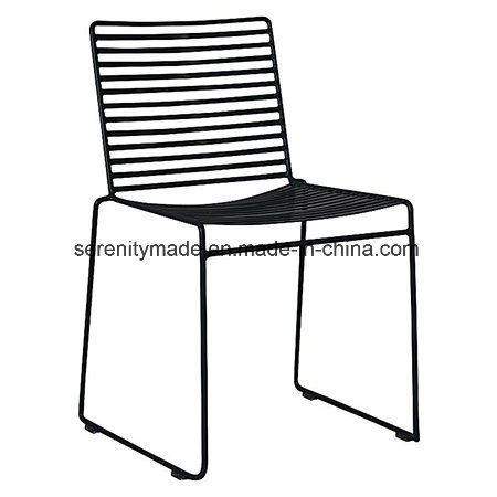 Super Hot Item Anti Rust Studio Black Metal Wire Stackable Outdoor Dining Chairs Creativecarmelina Interior Chair Design Creativecarmelinacom