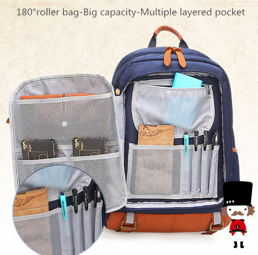 Wholesale Children s School Bag with Multi-Function Pockets Oxford Backpack e205ce68b00f2