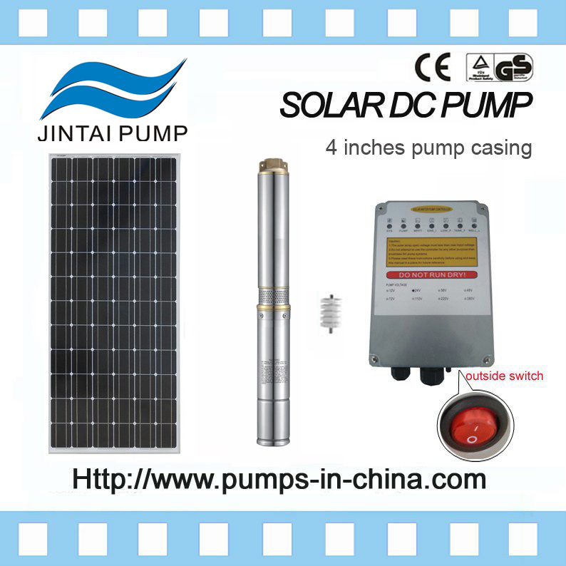 Jintai High Efficient and Environmentally Friendly Pump Submersible Solar Pumps