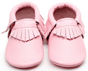 2b5e9e570 China Leather Baby Shoes Pink Baby Moccasin - China Baby Leather Moccasin