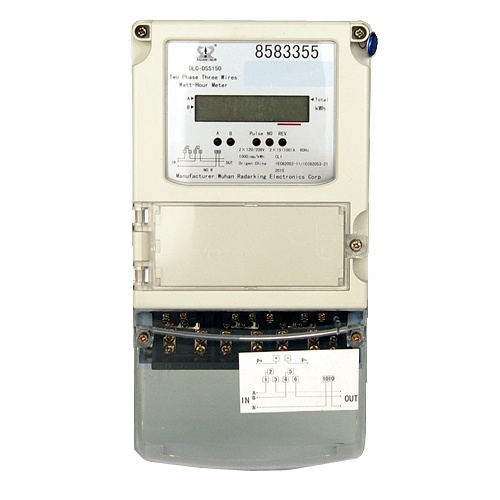 Remarkable China Two Phase Three Wires Active Reactive Energy Measurement Wiring Digital Resources Bletukbiperorg
