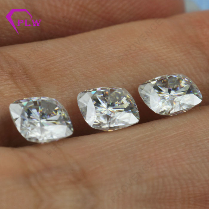 Hot Item Ef Color 1 Carat Diamond Cushion Cut Loose Moissanite