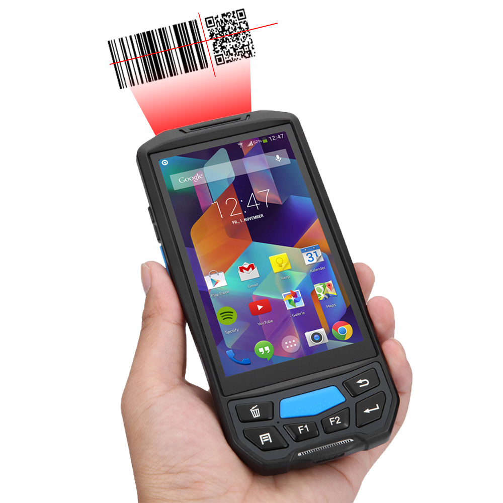 China Android 2d Bar Code Scanner Portable Pda With Qr Code Bluetooth China Pda And Laser Bar Code Scanner Price