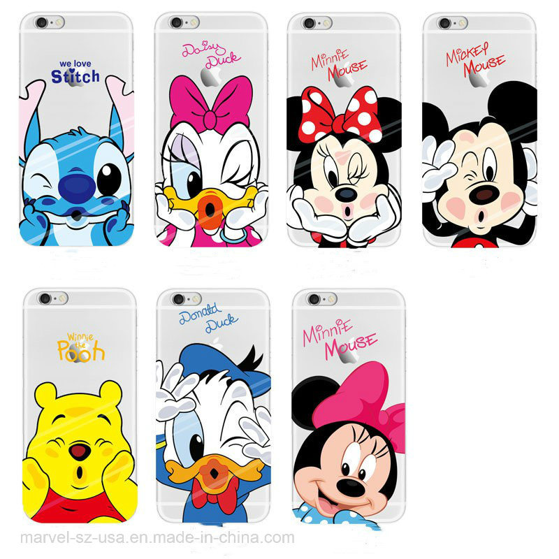 detailed look f27df b1237 [Hot Item] Mickey Minnie Mouse Soft TPU Silicone Clear Phone Case