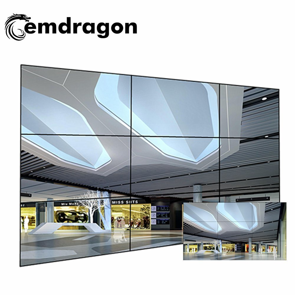 China 3X3 Video Wall 49 Inch Android Touch Info Display LED Digital