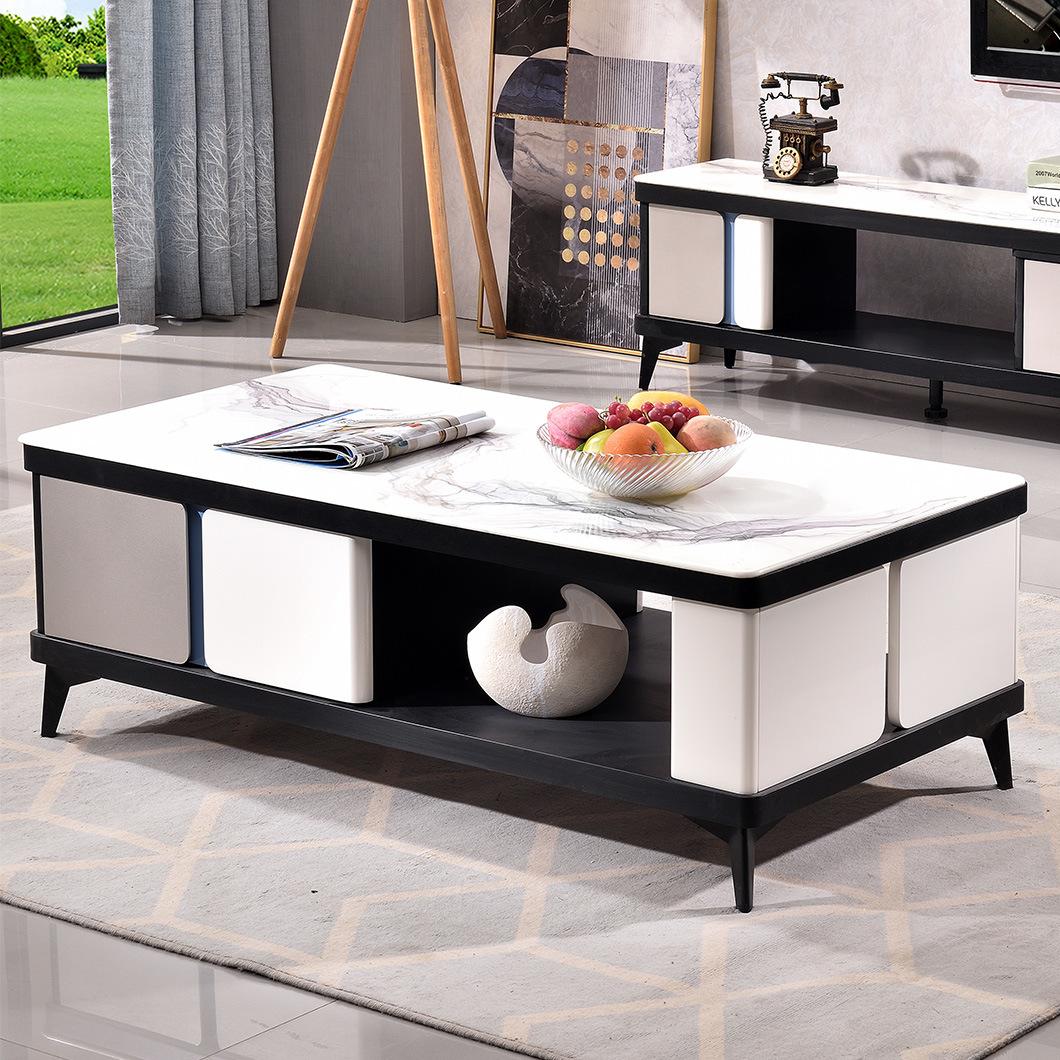 - China Living Room Fashion High Quality Modern MDF Coffee Table