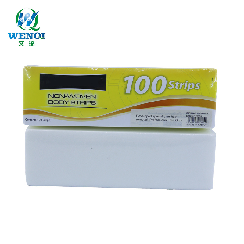 China Oem Manufacturers 100pcs Non Woven Epilating Paper For Hair