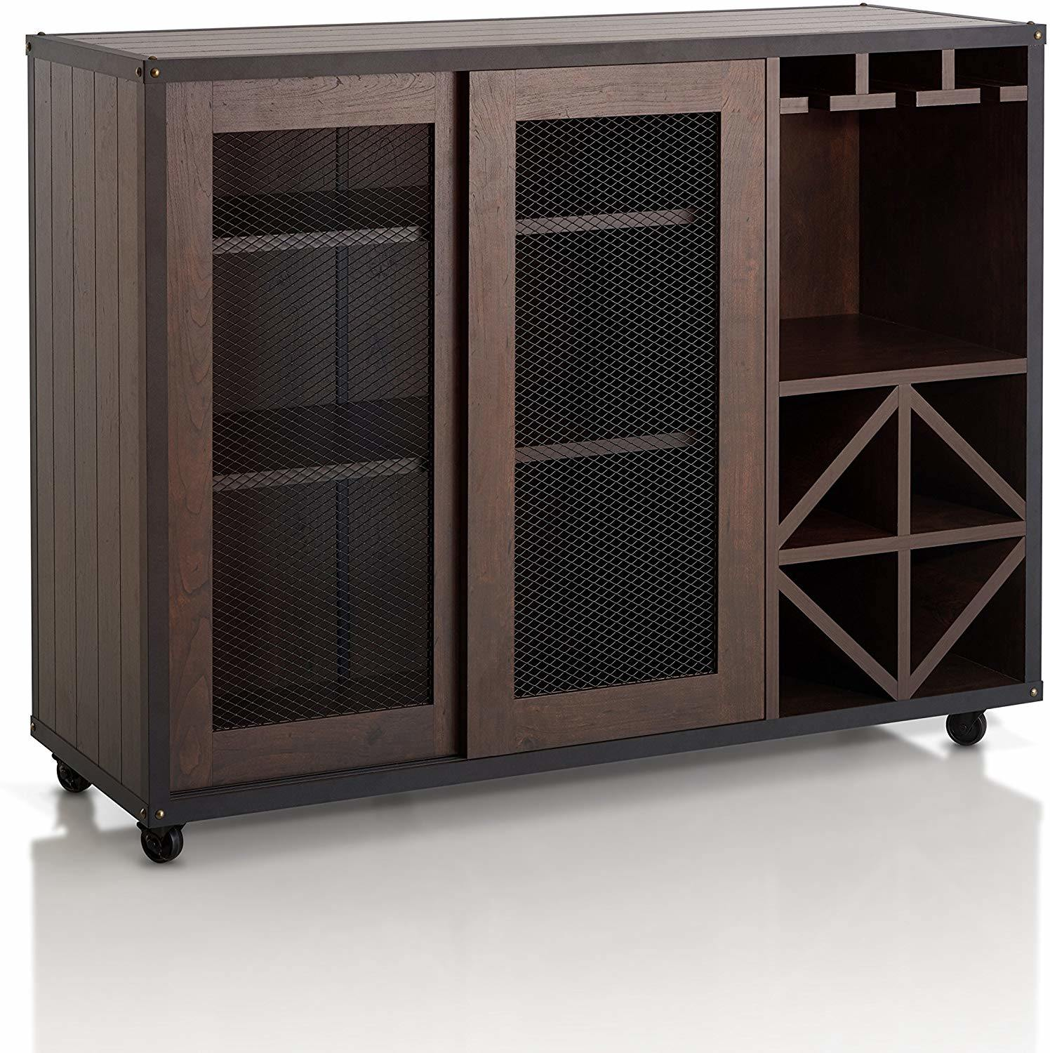 Picture of: Chinese Furniture Wooden Buffet Antique Reproduction Furniture Kitchen Cabinets Sliding Door Multi Storage Buffet Sideboard With Wine Rack And Caster Wheels Chinese Furniture Wooden Buffet Wooden Kitchen Cabinet