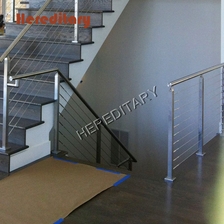 China Square Stainless Steel Balustrade with Dia 12mm Pipe ...