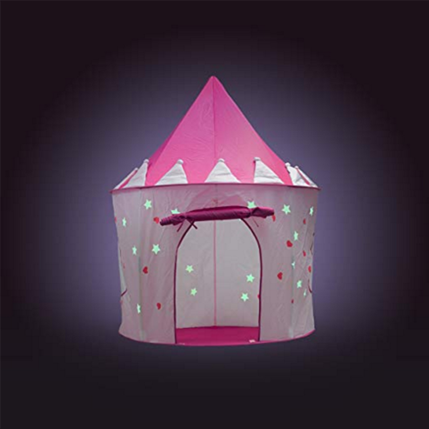 China Princess Castle Play Tent with Glow in The Dark Stars