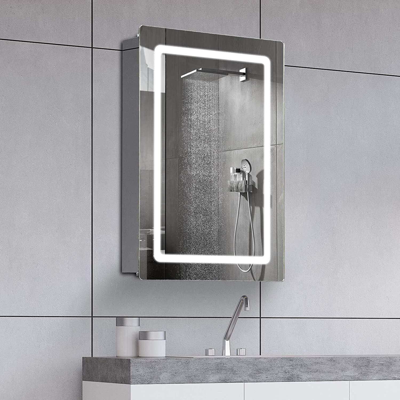 China Vanity Bathroom Or Living Room, Lighted Medicine Cabinet With Defogger