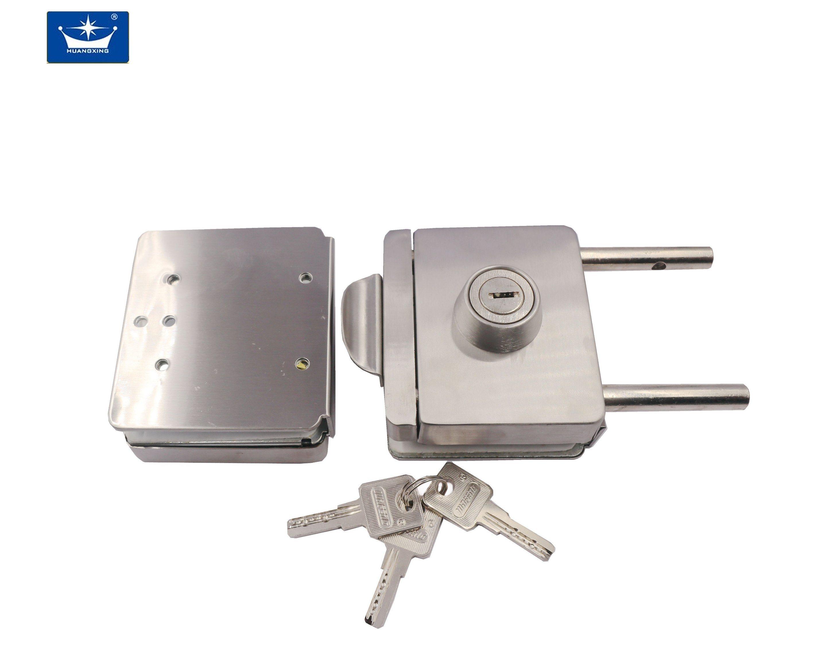 China Double Glass Door Locks For Glass Door Hardware China Double