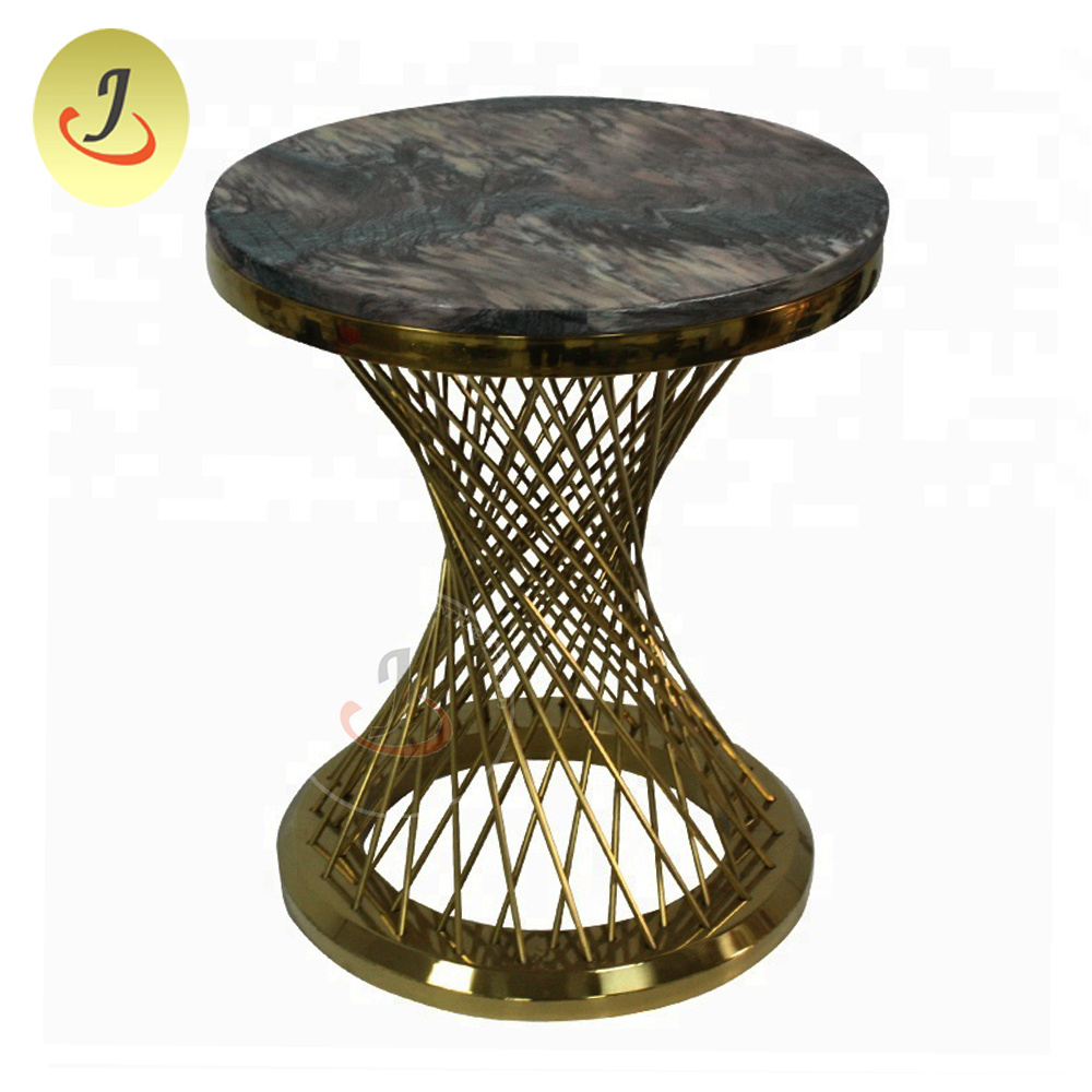 Wire Frame Coffee Table.Hot Item Factory Direct Sales Marble Top Metal Wire Frame End Coffee Table