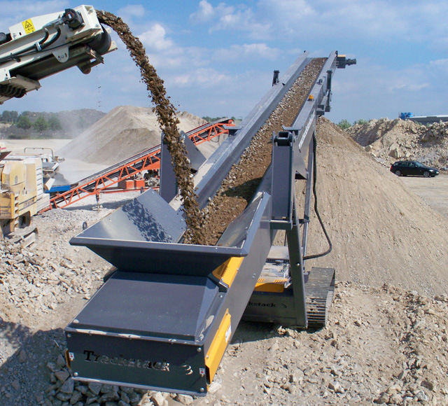 [Hot Item] High Efficiency Belt Conveyor for Stone Rock Sand Production Line