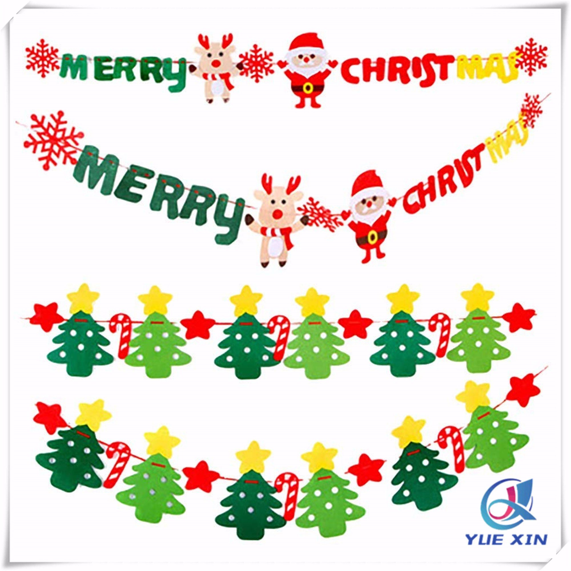 china merry xmas happy christmas banner colorful felt banners christmas decoration china christmas banner and felt banners price hot item merry xmas happy christmas banner colorful felt banners christmas decoration