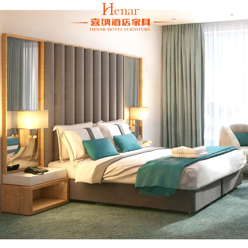 China Modern Wooden Bedroom Furniture Days Inn Hotel Design - China ...