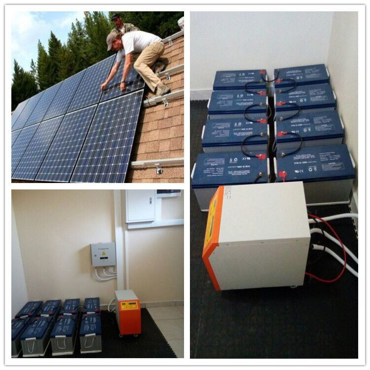 Hot Item Install Support 5kw 10kw Solar System Battery Storage Energy Build Your Own House