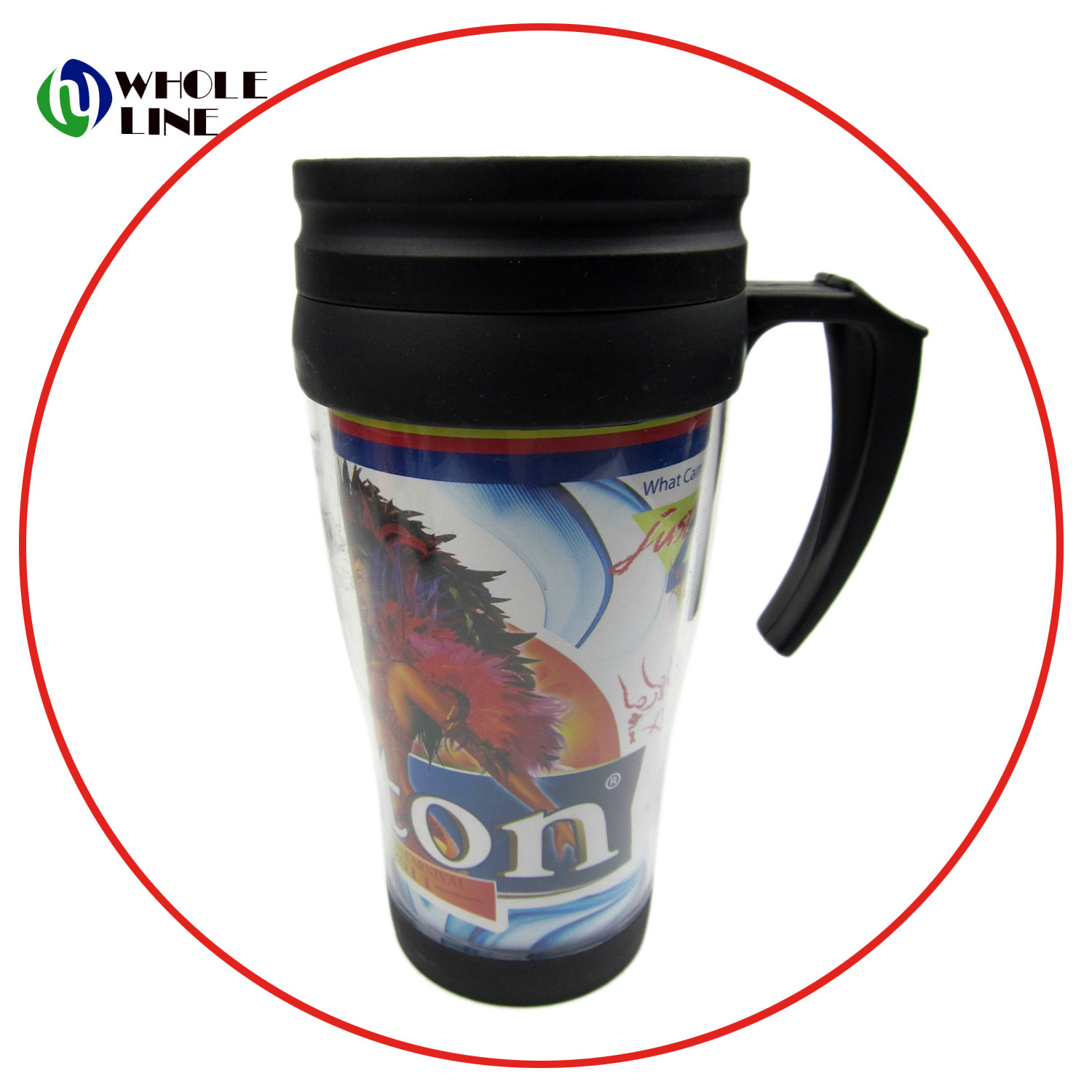 Custom Non Spill Coffee Thermos Stainless Steel Travel Mug Tumbler