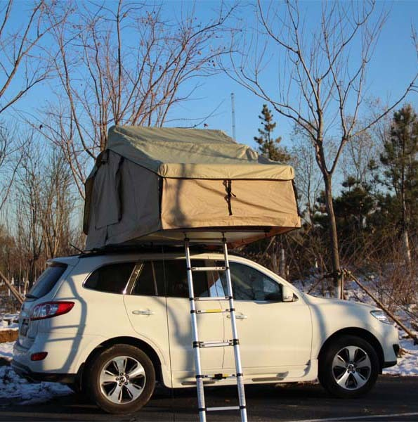 China Overland Truck Car Roof Top Tent With Awning House