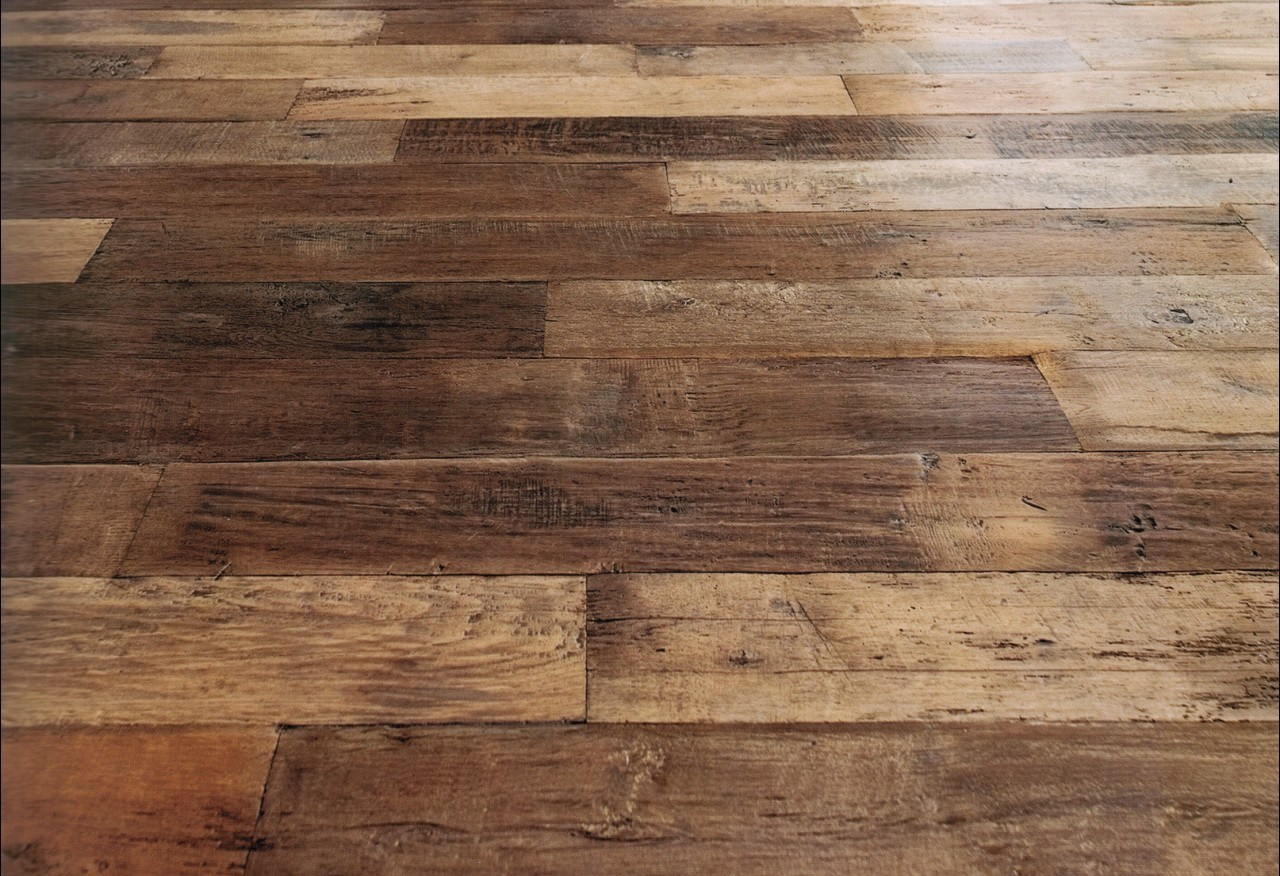 China Top Grade Luxury Antique Old Oak Wooden Parquet